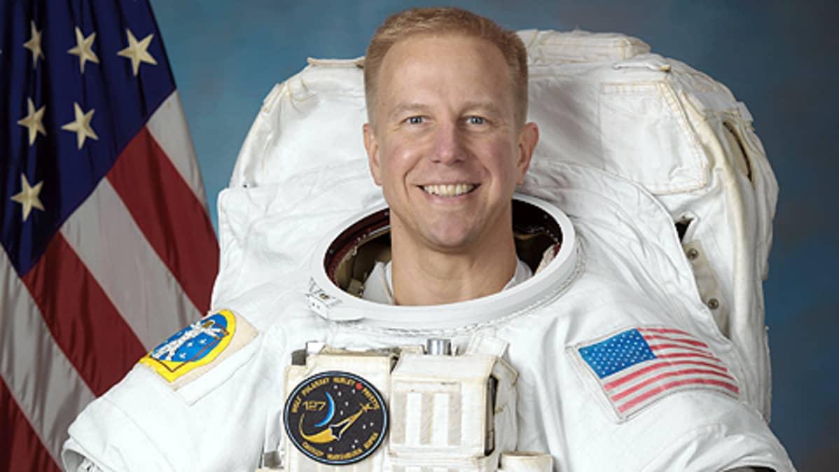 NASA:n astronautti Timothy L. Kopra.