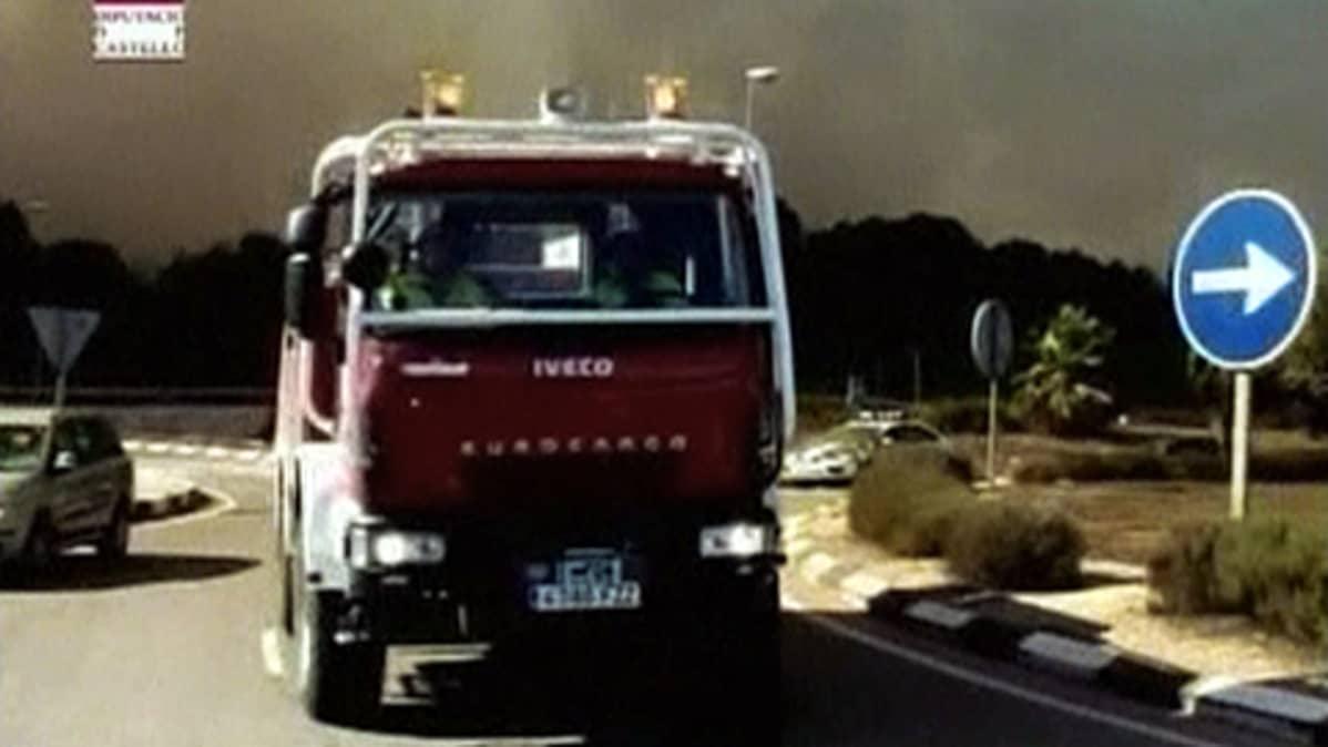 Espanjalainen paloauto.