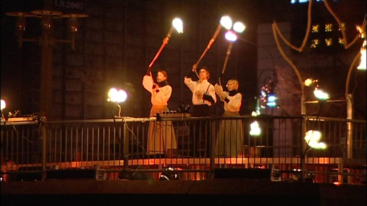 Turli on pääosassa Turun kulttuuripääkaupunkivuoden avajaisissa.