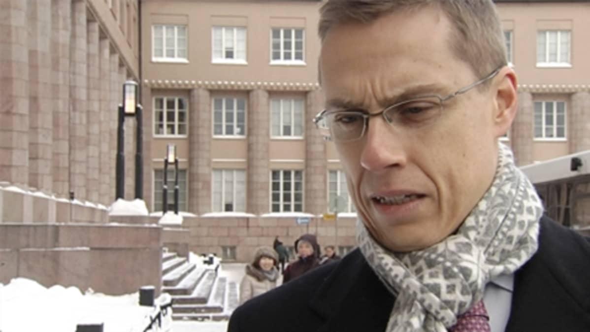 Ulkoministeri Alexander Stubb.