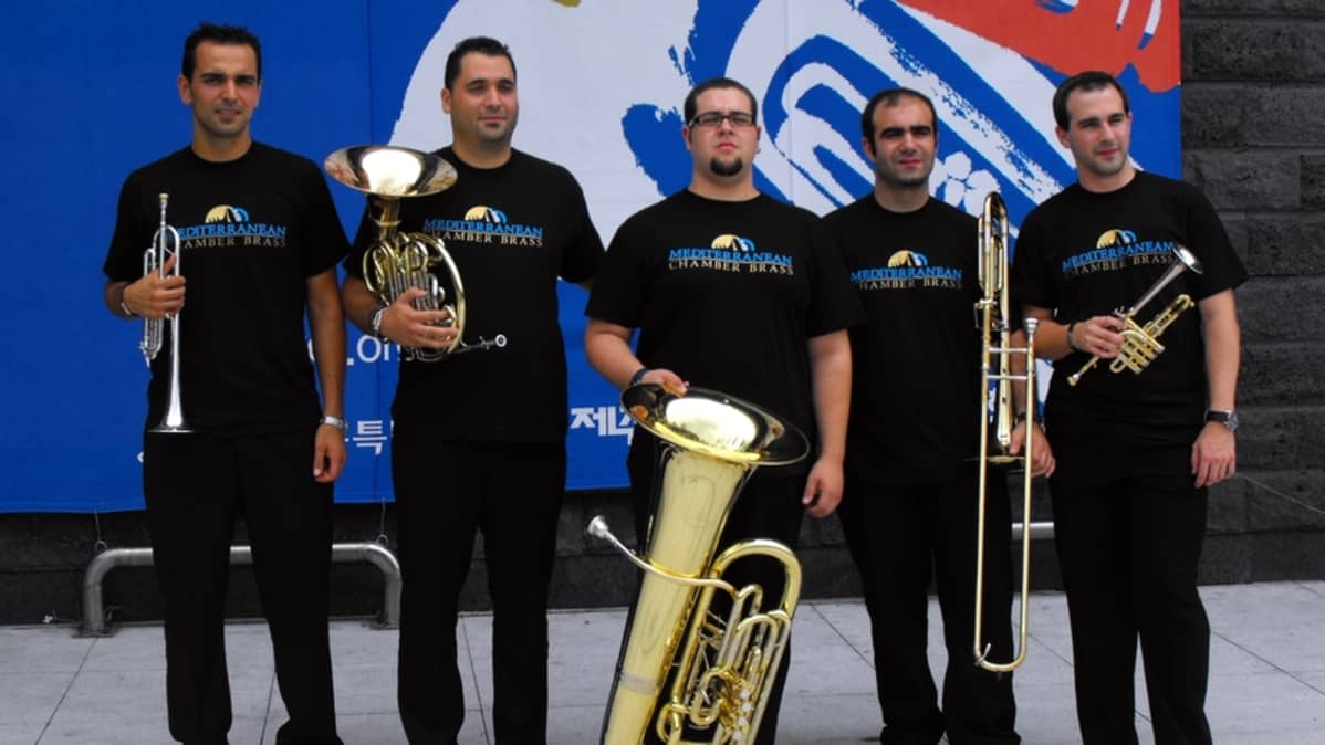 The Mediterranean Chamber Brass.