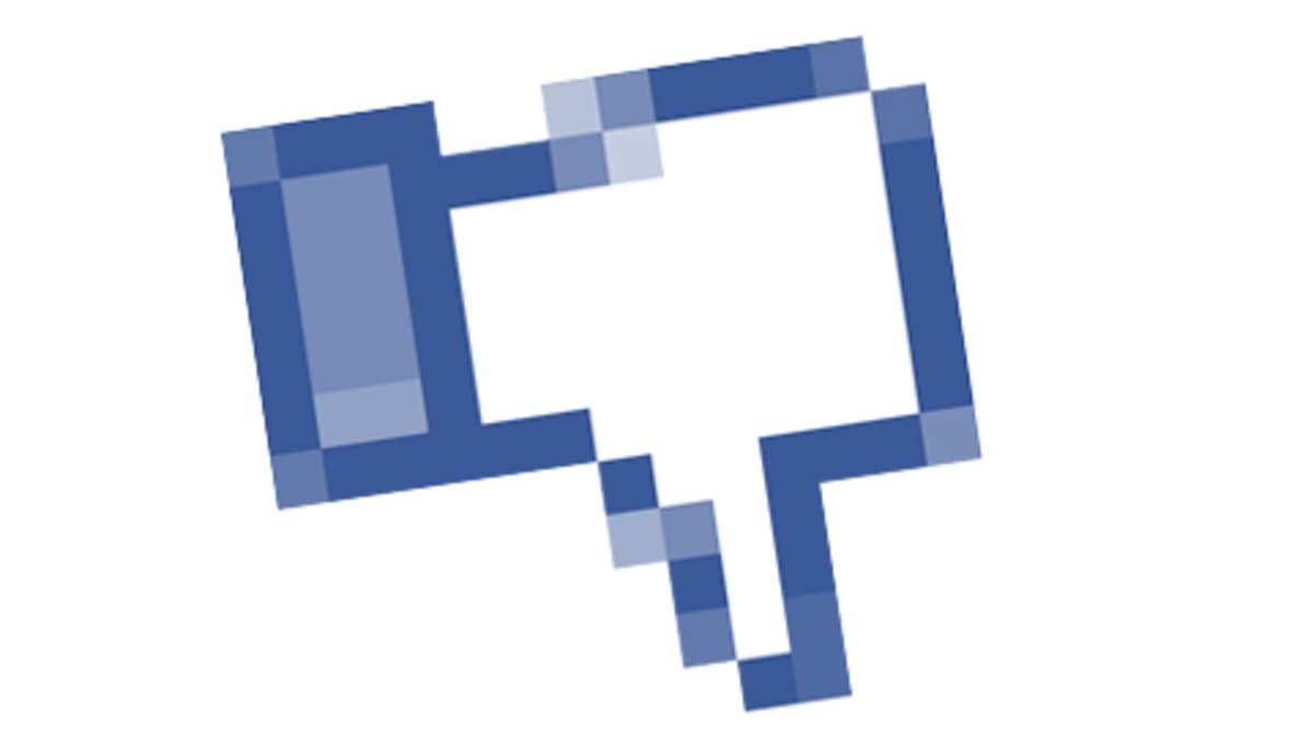 Facebookin Like-nappi käännettynä