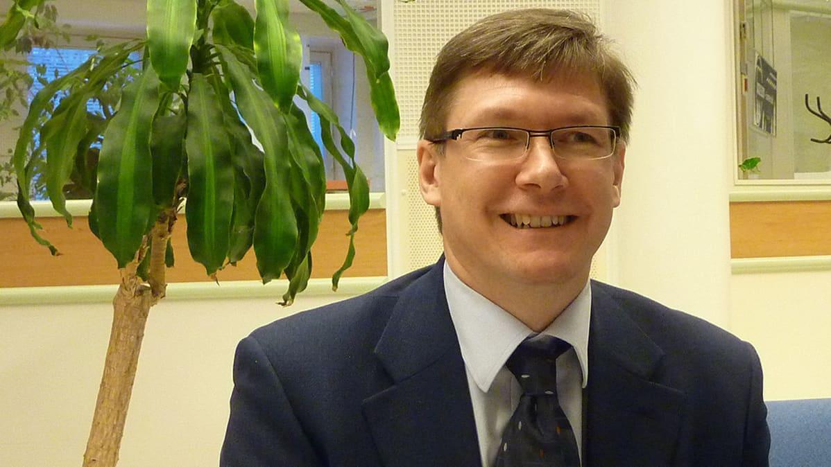 YLE Alueiden päällikkö Teijo Valtanen
