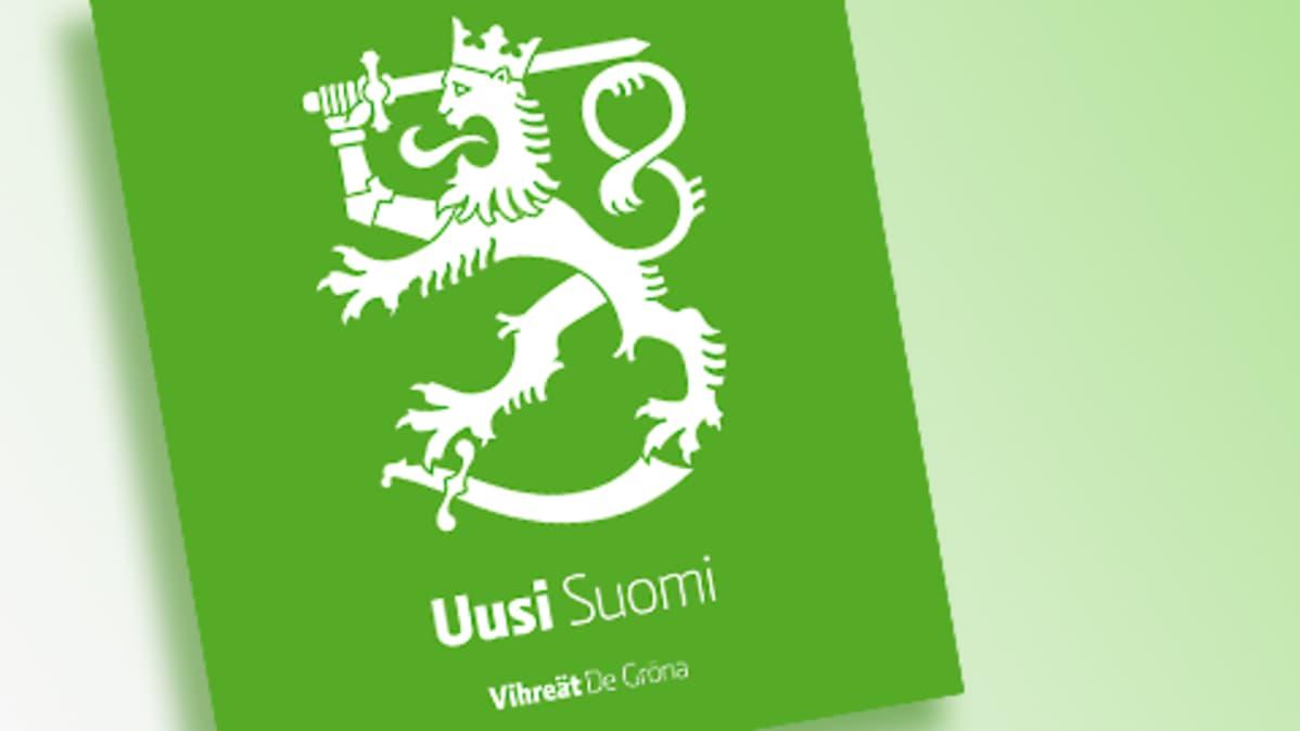 Vihreiden eduskuntavaalikampanjan logo