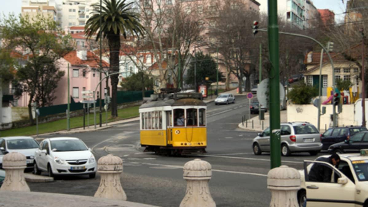 Katukuvaa Lissabonista.