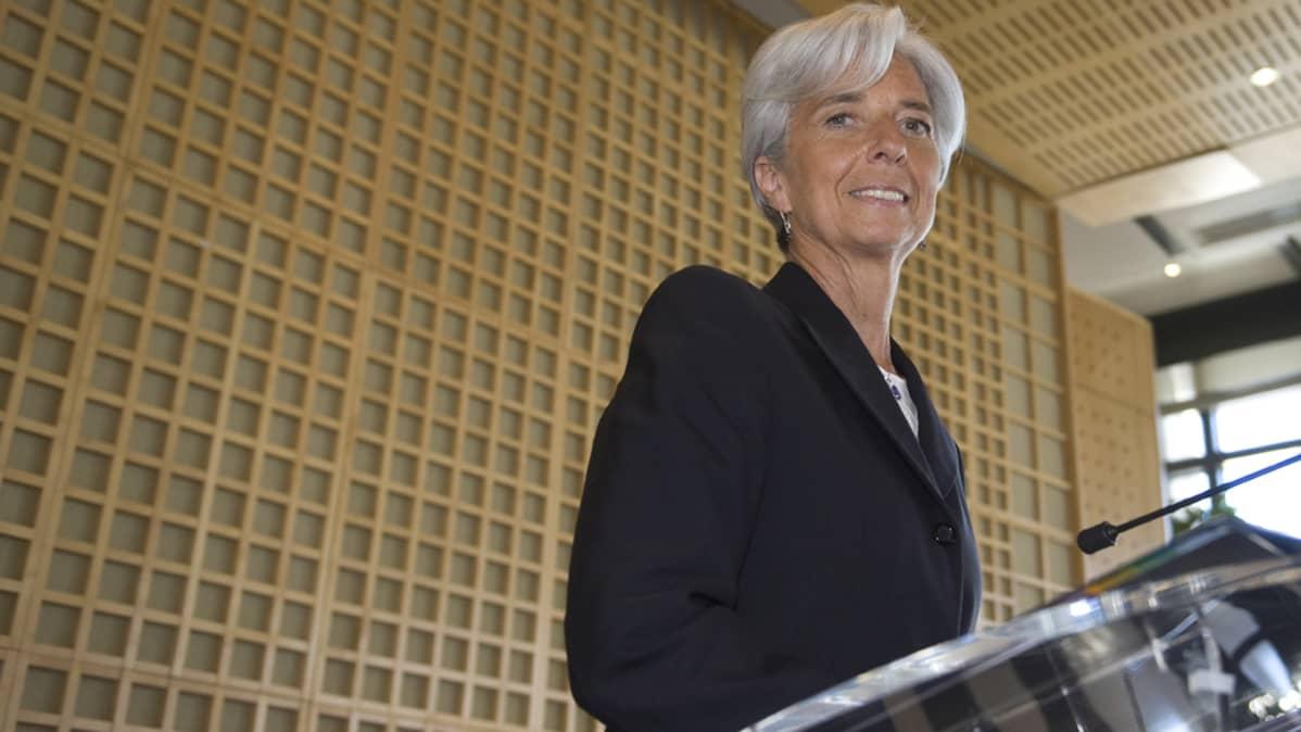 Ranskan valtiovarainministeri Christine Lagarde.