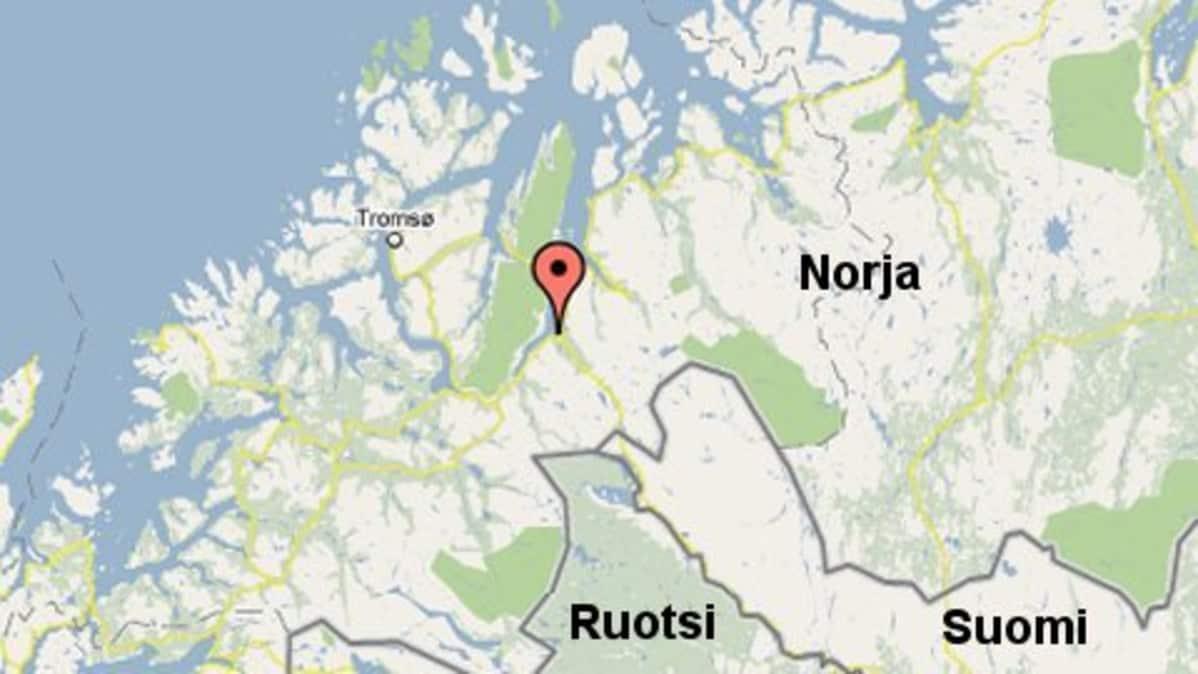 Maanvyory Sulki Tien Pohjois Norjassa Yle Uutiset Yle Fi