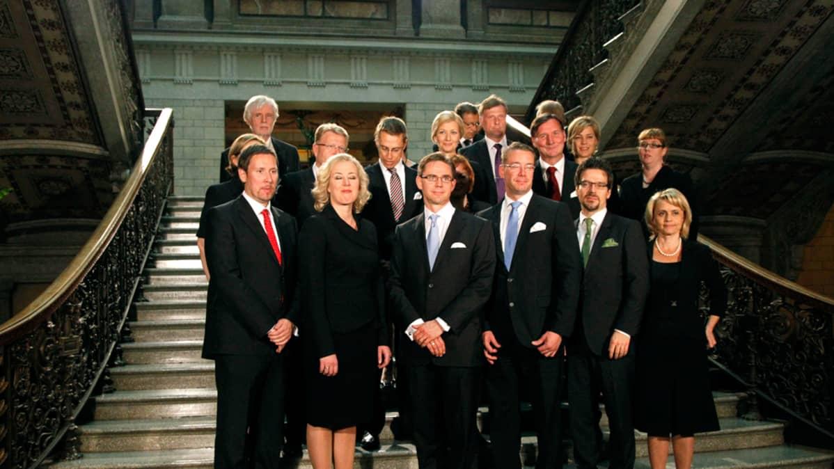 Uusi hallitus 2011.