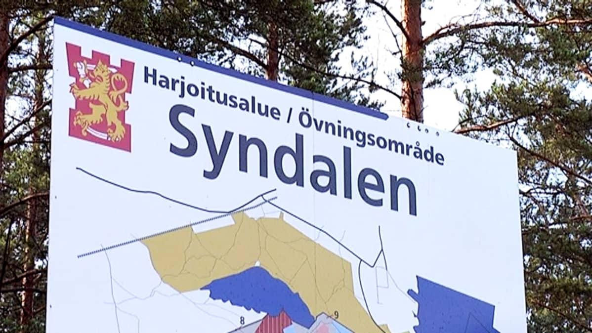 Syndalenin kartta