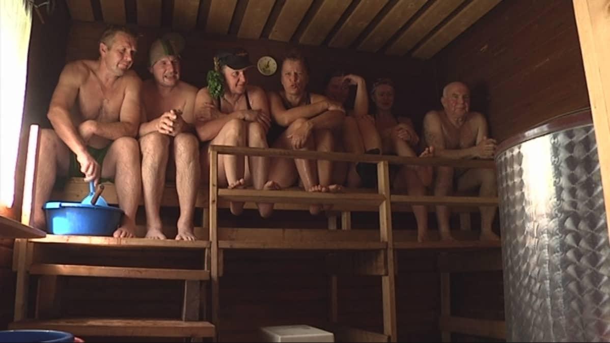 Saunamaraton 2011, sauna, löyly