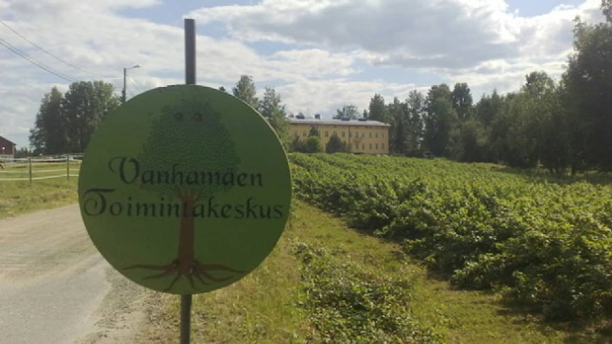 Vanhamäen toimintakeskus Suonenjoella.