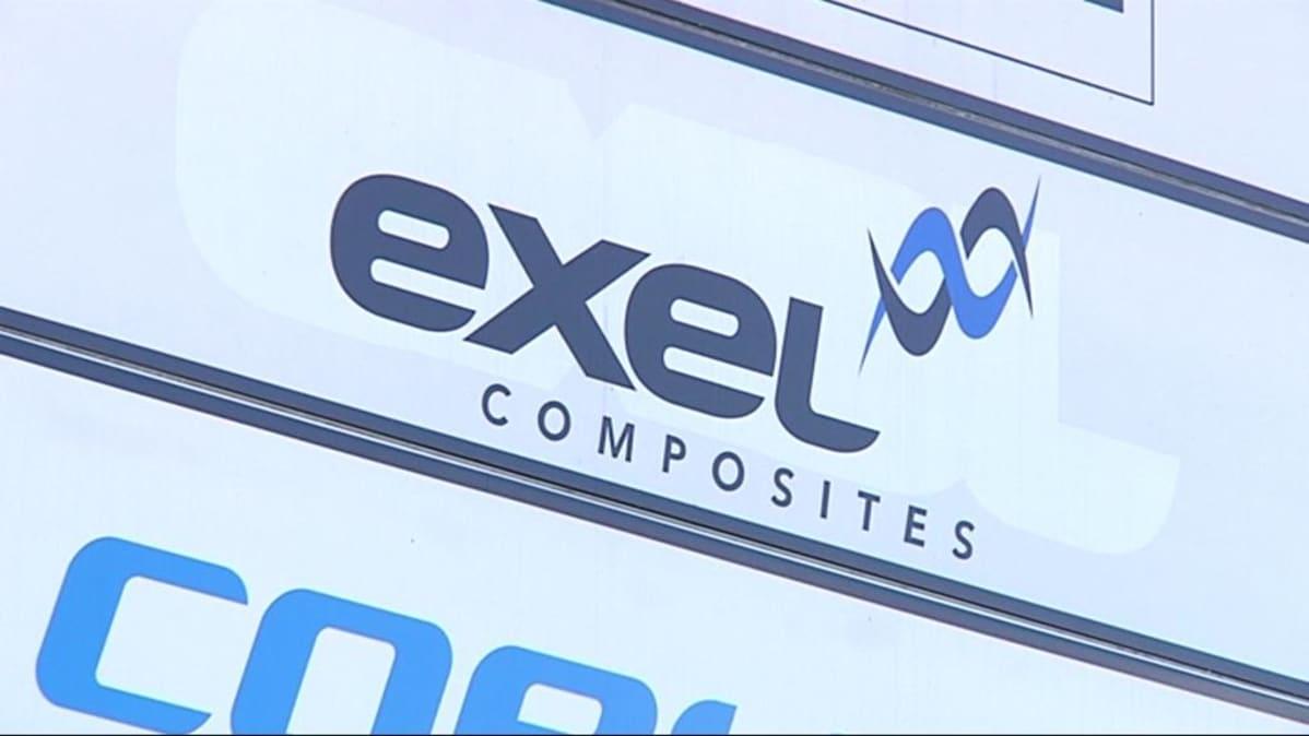 Exel-yrityskyltti.