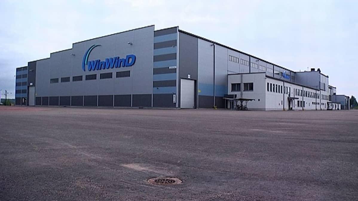 Winwindin Haminan tehdas ulkoa