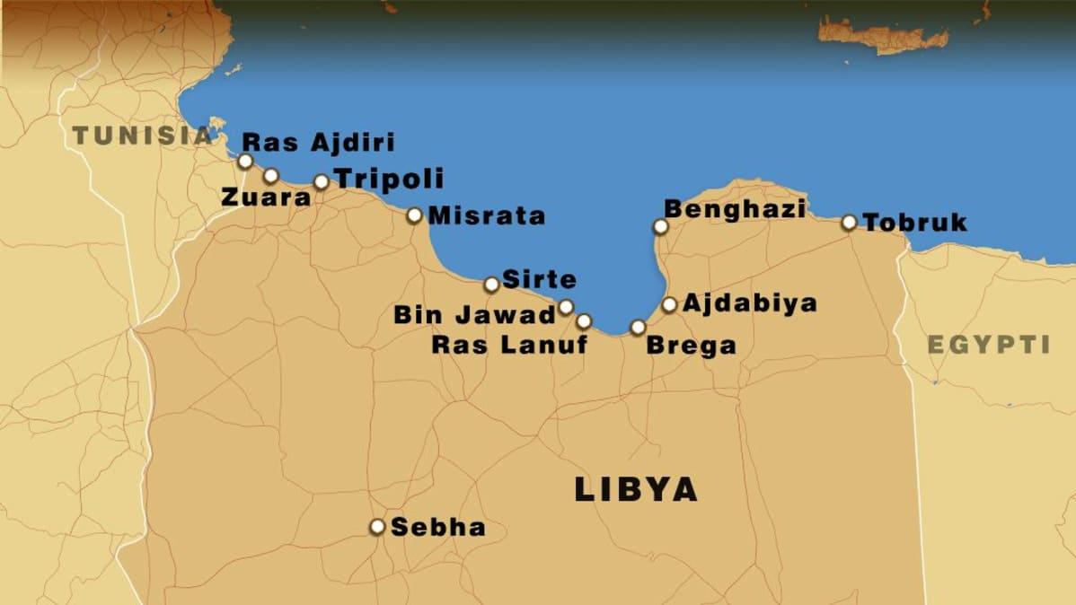 Britannian Koneet Pommittivat Bunkkeria Gaddafin