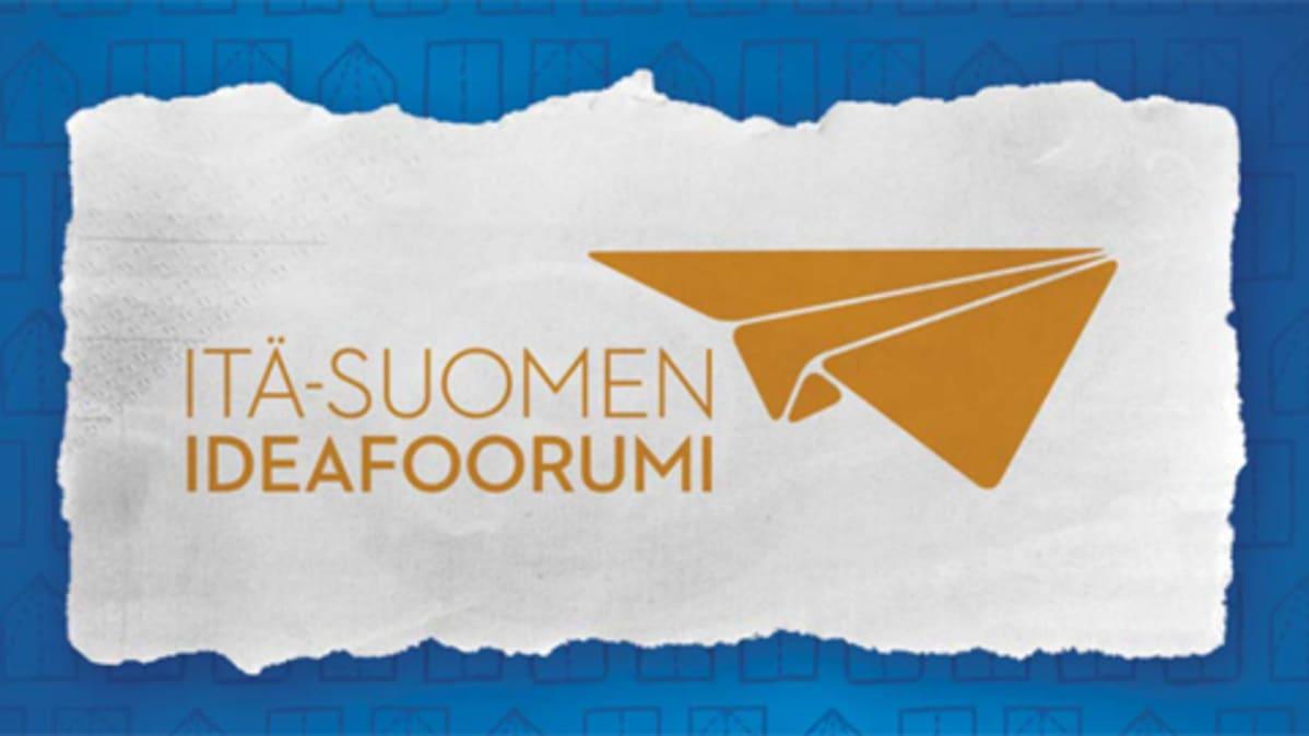 Itä-Suomen ideafoorumin tunnus.