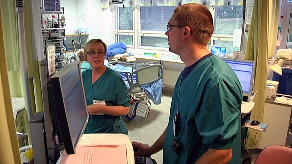 Vaasan keskussairaalan teho-osasto