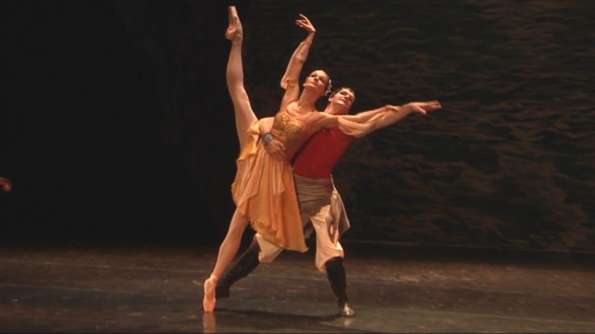 Savcor Ballet 2010 Merirosvo Le Corsaire baletin harjoitukset