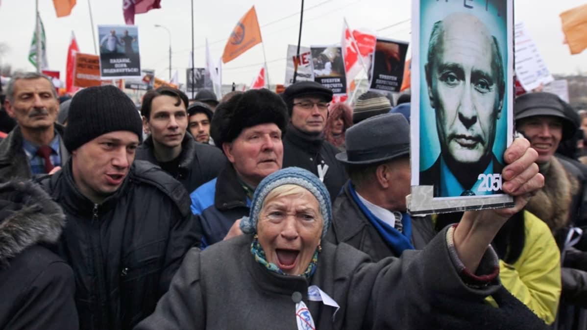 Moskovan mielenosoitukset 10. joulukuuta 2012.