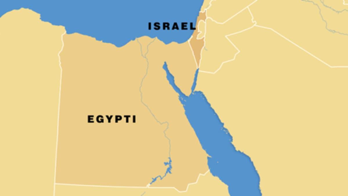 Israelin Ja Egyptin Valille Rakennetaan Muuri Yle Uutiset Yle Fi