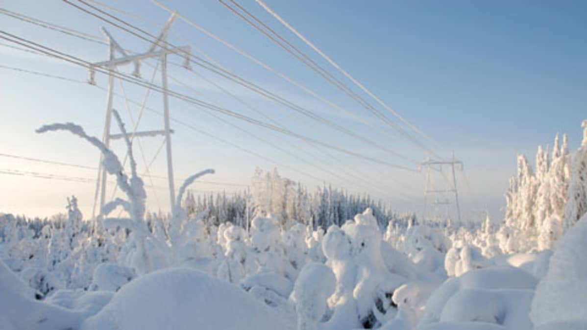 Fingridin mukaan pohjoisen rannikkoseuduille rakennetaan uutta tuulivoimaa noin 1900 megawattai vuoteen 2025 mennessä.