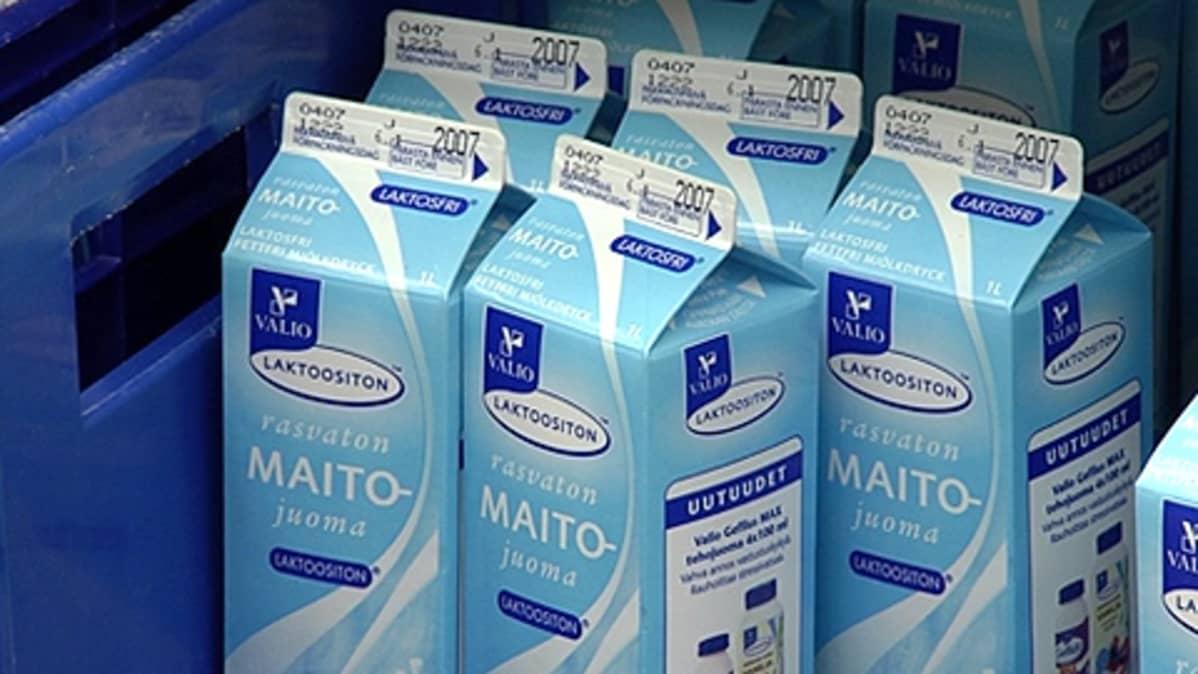 Maitotölkkejä kaupassa
