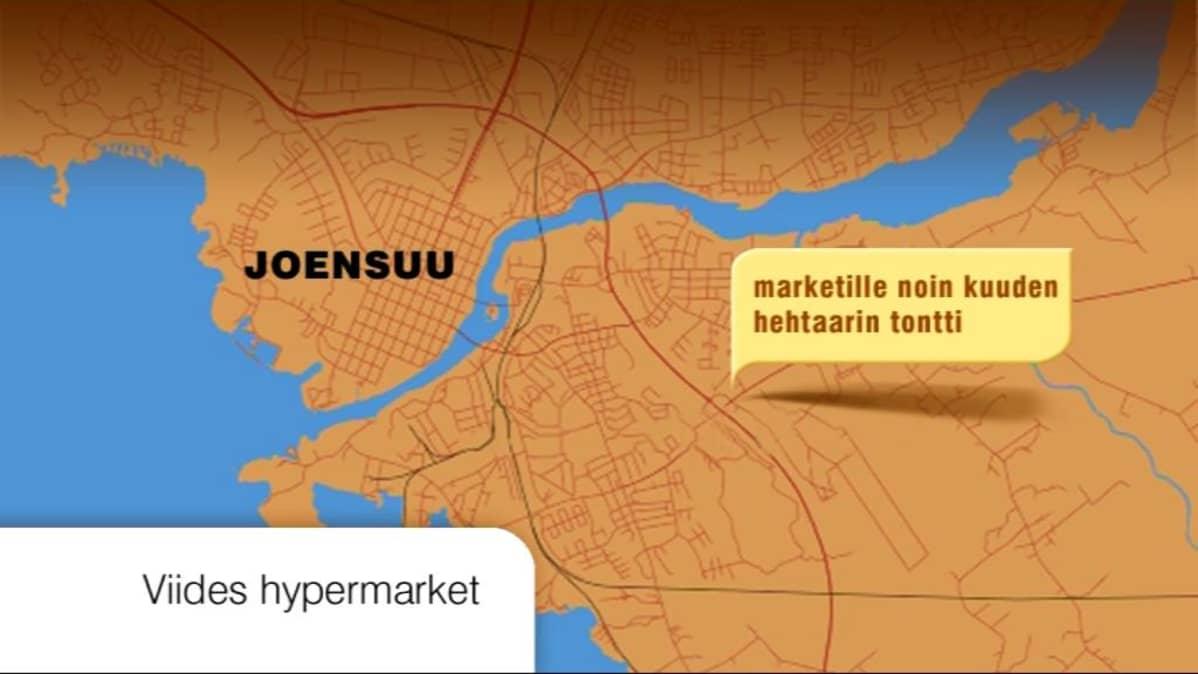Karsikon Hypermarketista Kasvavien Alueiden Kauppapaikka Yle