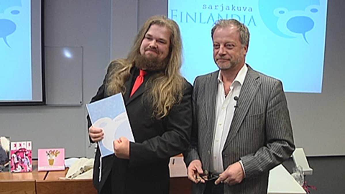Petteri Tikkanen ja Matti Rönkä