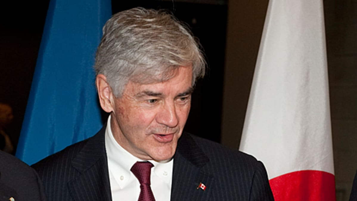 Kanadan ulkoministeri Lawrence Cannon