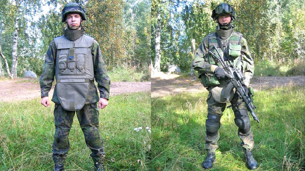 Puolustusvoimille tulee yhteinen taisteluasu Ruotsin kanssa – Suomalainen sotilas saa ulkomaiset vaatteet