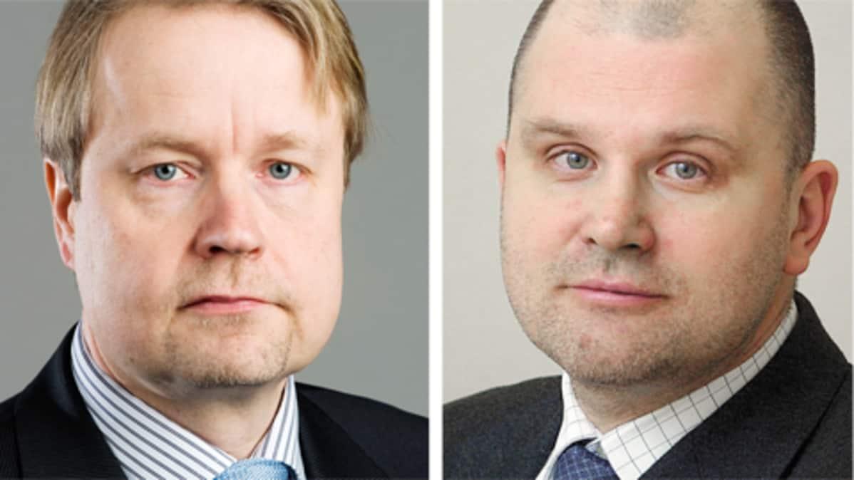 Matti Apunen ja Jouko Jokinen