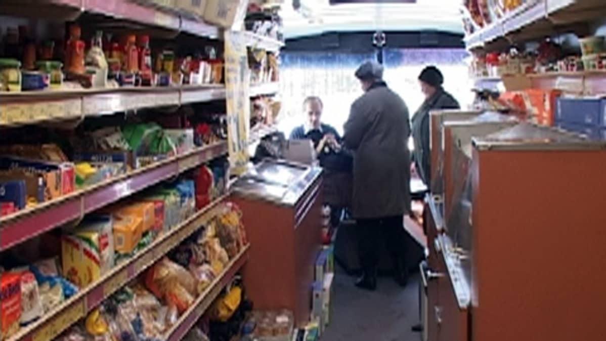 Turun seudun viimeinen myymäläauto kulki vielä vuonna 2005.