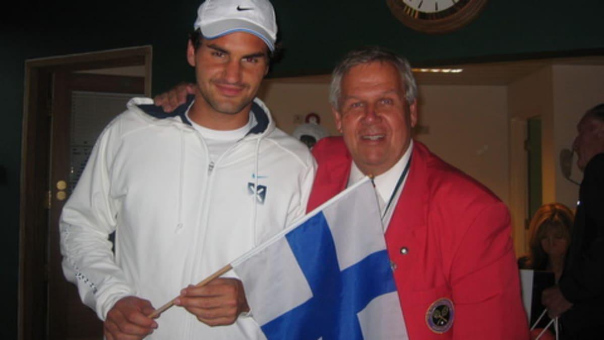 Roger Federer ja Risto H. Luukkanen