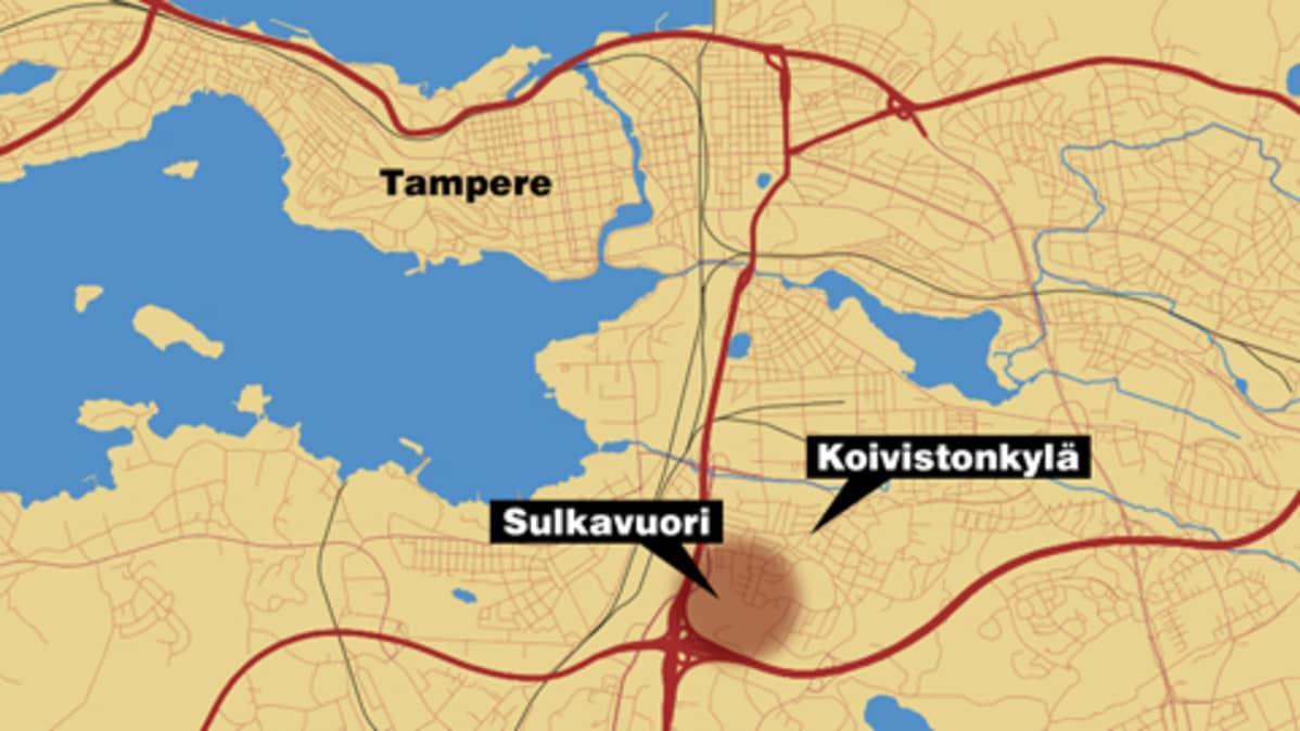 Tampereella Seikkaillutta Karhua Ei Loydetty Yle Uutiset Yle Fi