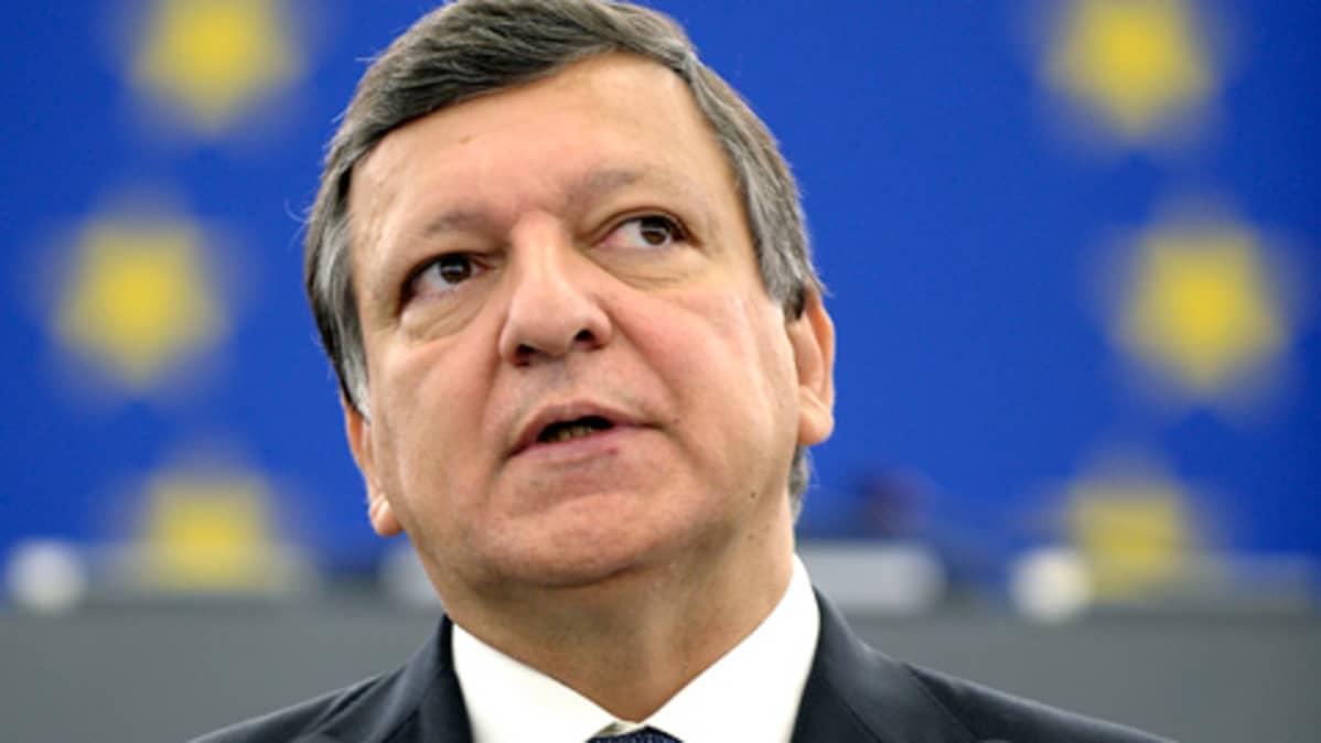 Komission puheenjohtaja Jose Manuel Barroso