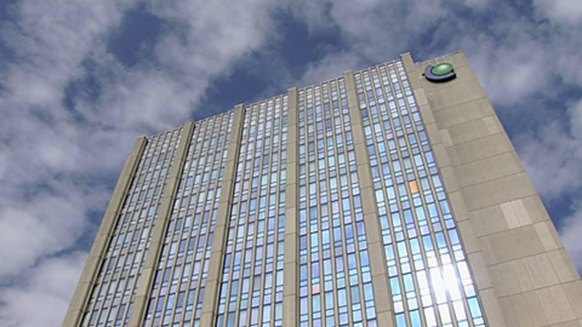 Fortumin pääkonttorin julkisivu Espoossa.