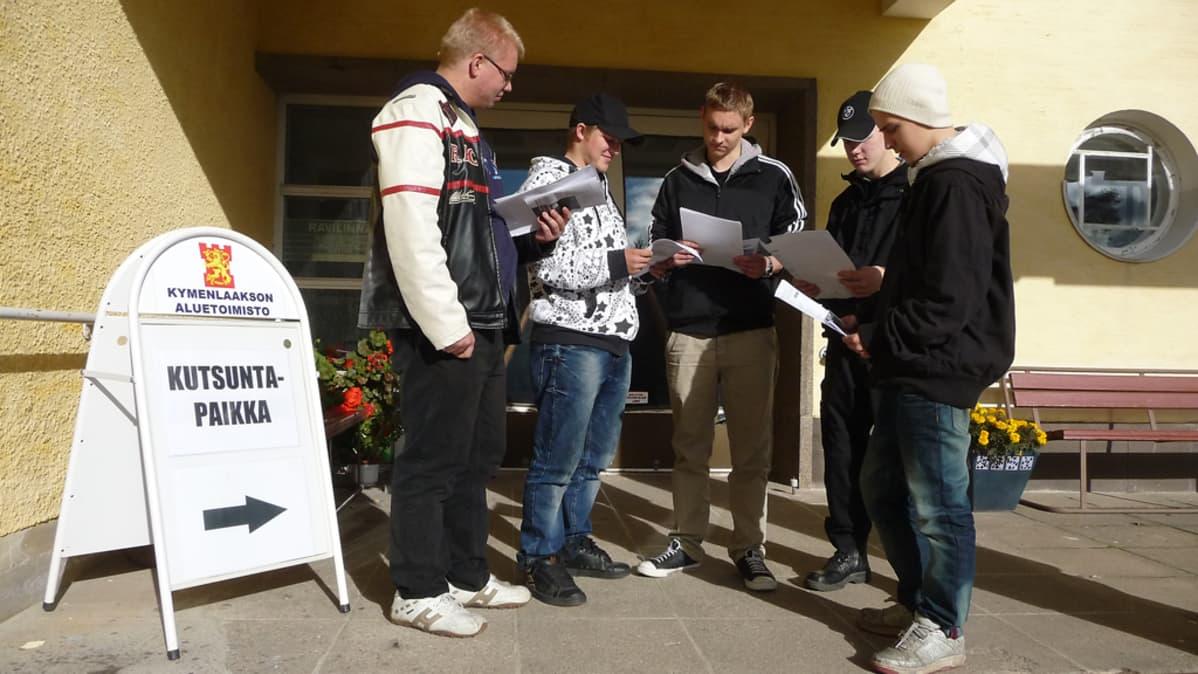 Kutsunnat alkoivat Kymenlaaksossa 11. marraskuuta.