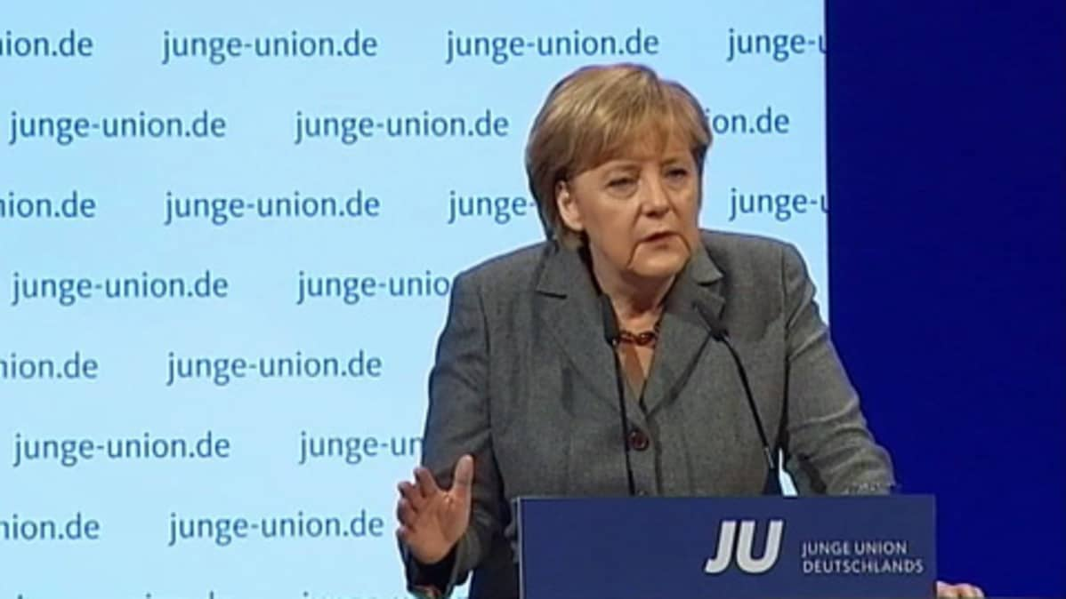 Saksan liittokansleri Angela Merkel