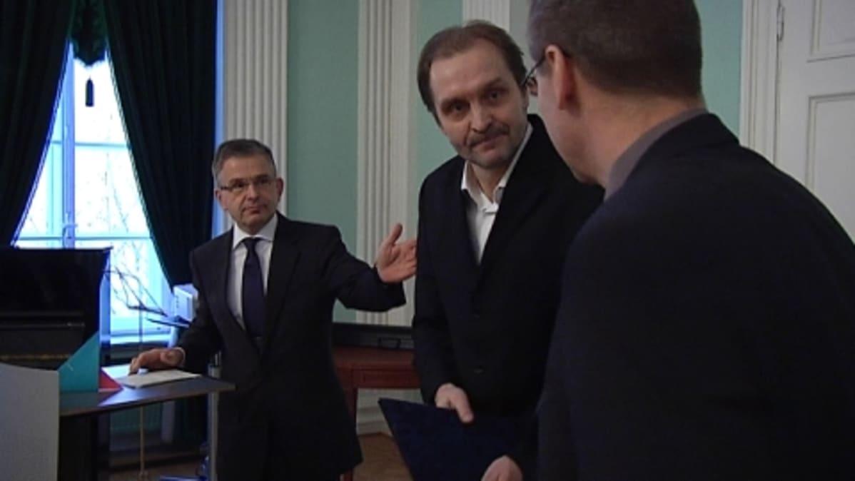 Arto Halonen vastaanottaa Helsingin kulttuuripalkintoa
