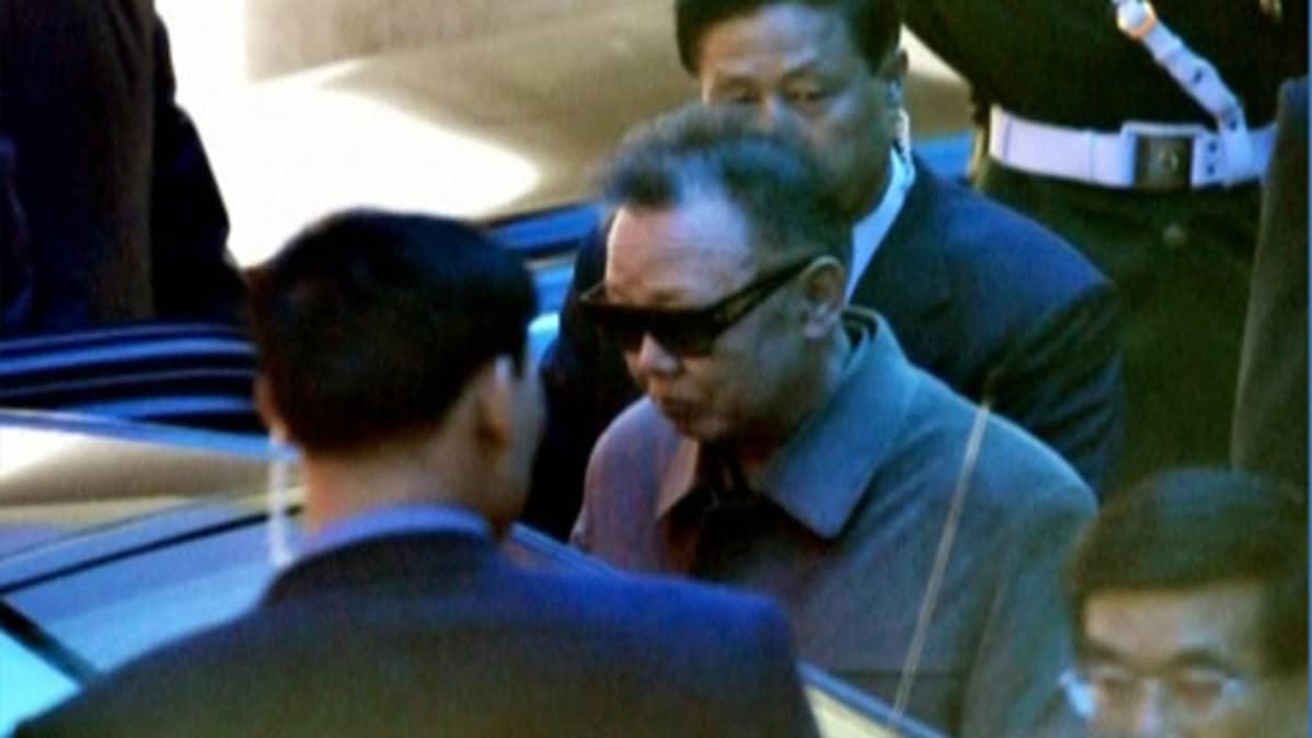 Pohjois-Korean johtajan Kim Jong-ilin