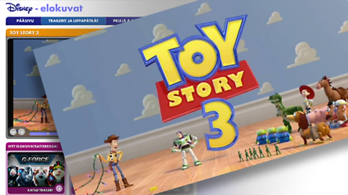 Toy Story 3 -elokuvan traileri