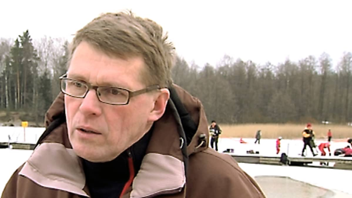 Pääministeri Matti Vanhanen