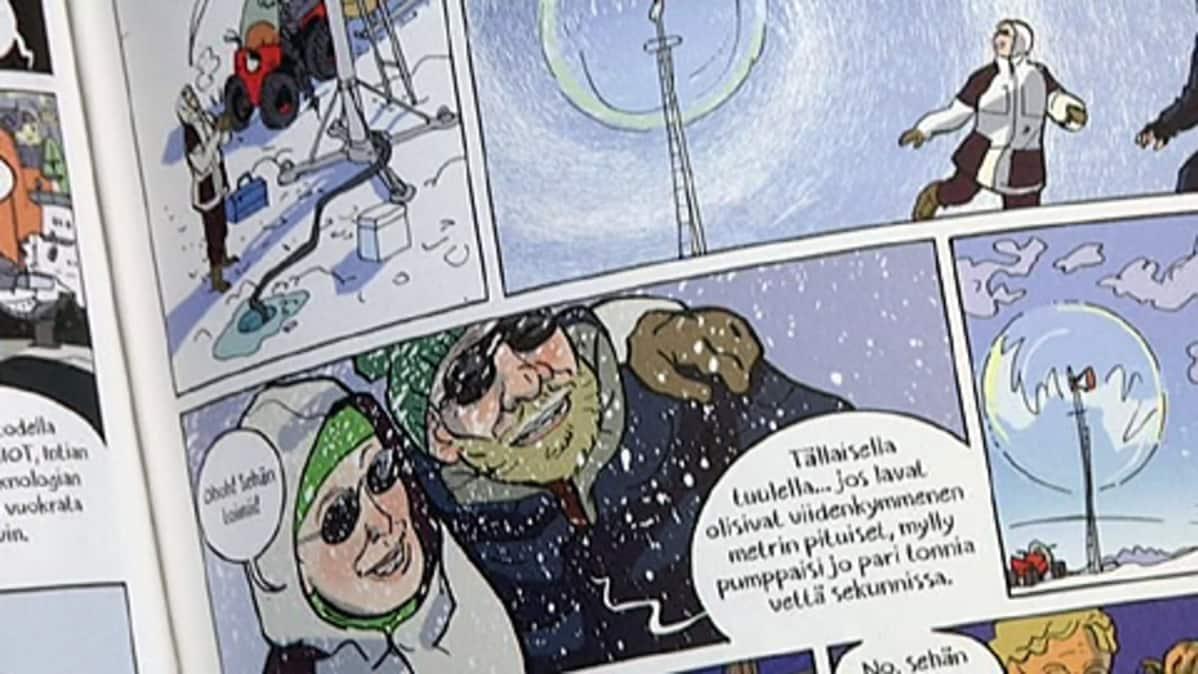 Sarjakuva-Finlandian voittanut teos.