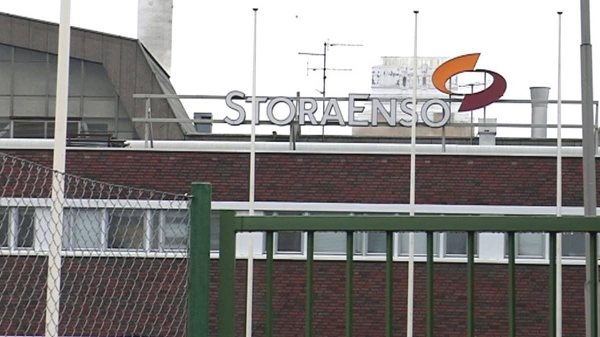 Stora Enson Varkauden tehtaat.