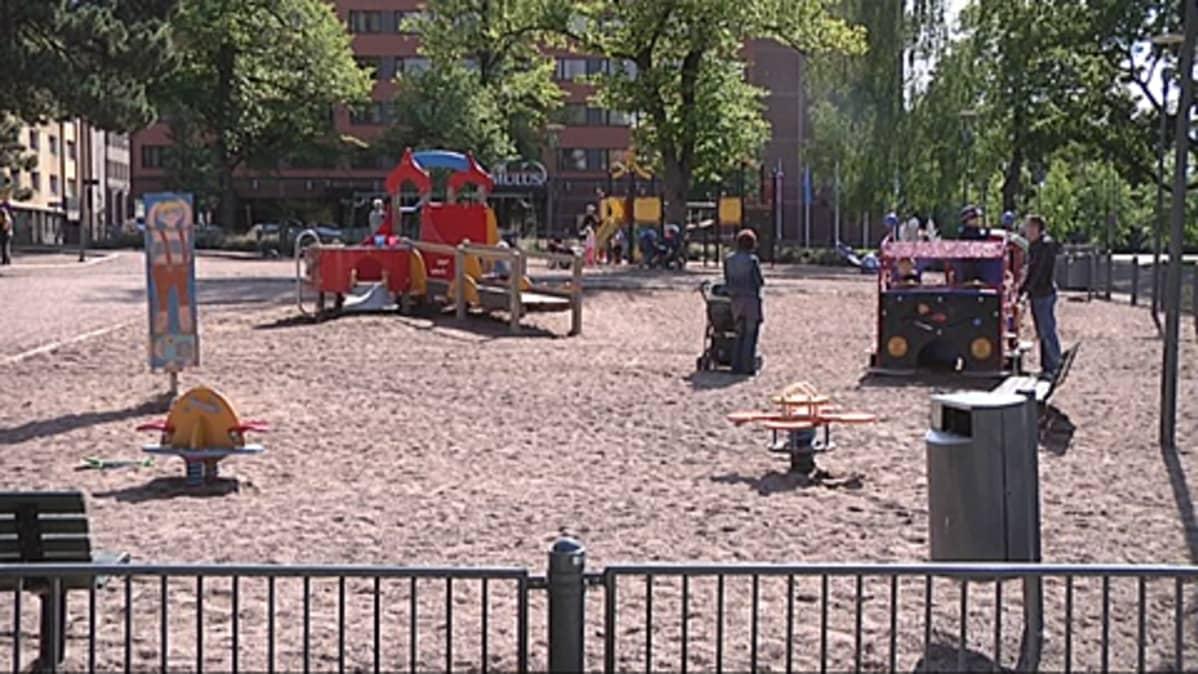 Pikku Kakkosen puisto.