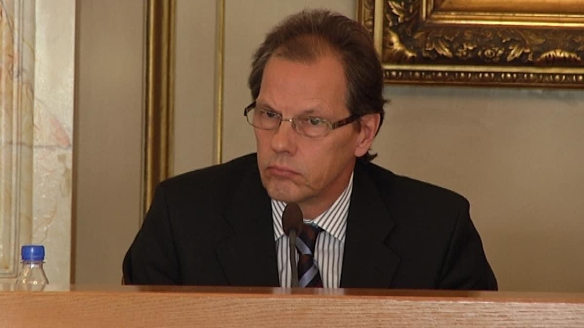 Turun kaupunginjohtaja Mikko Pukkinen.