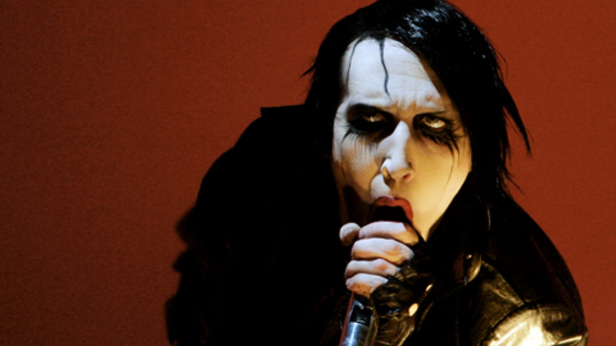 Marilyn Manson vuonna 2007 Pinkpop-festivaaleilla Hollannissa