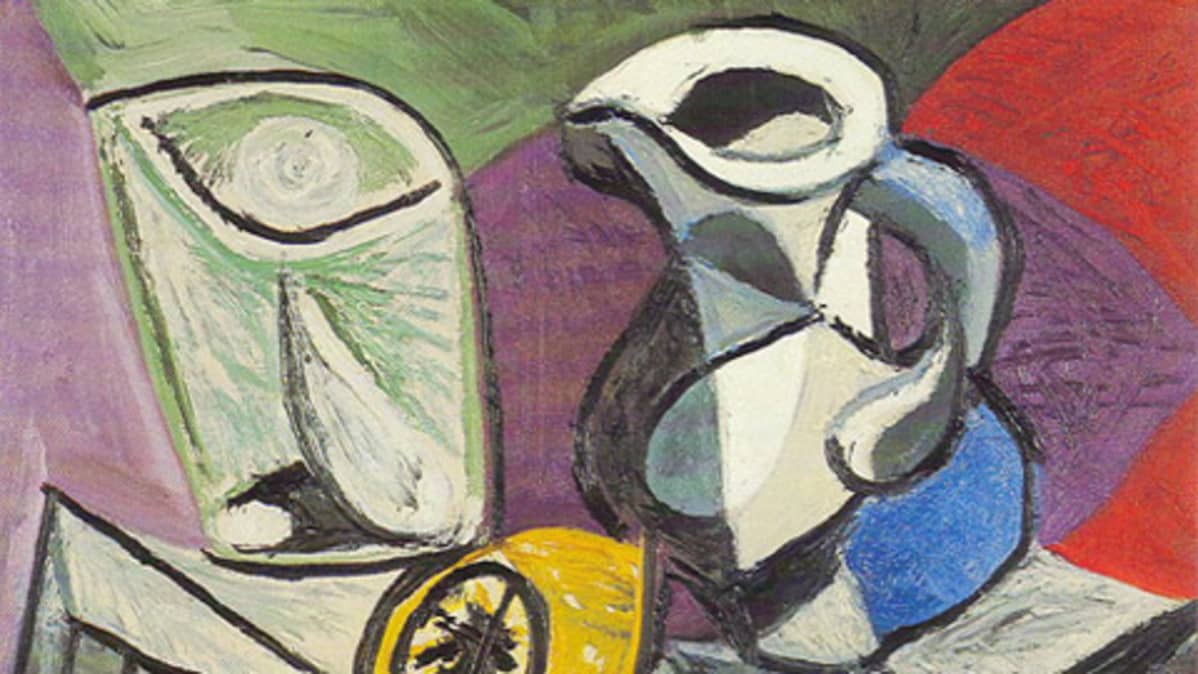 Picasson maalaus Verre et pichet (Lasi ja kannu) varastettiin näyttelystä Sveitsissä vuonna 2008.