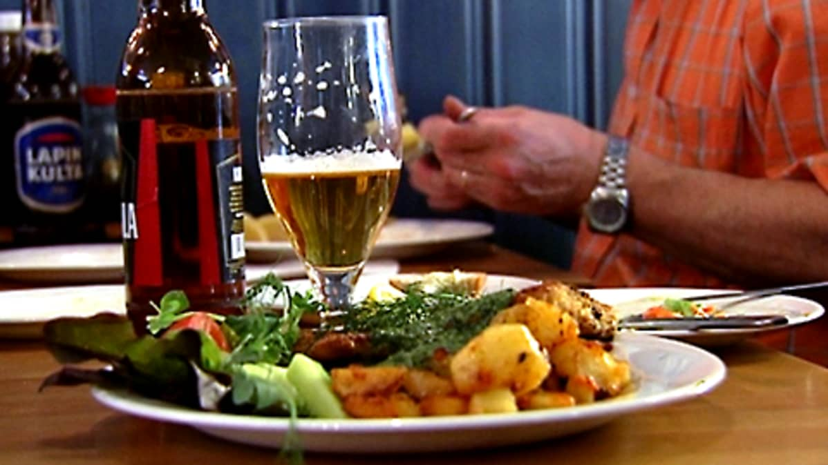 Ravintola-annos lautasella
