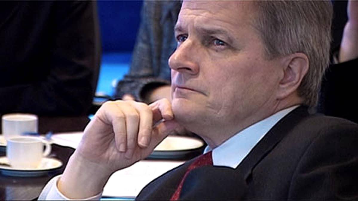 Sosiaalidemokraattisen puolueen kansanedustaja Johannes Koskinen.