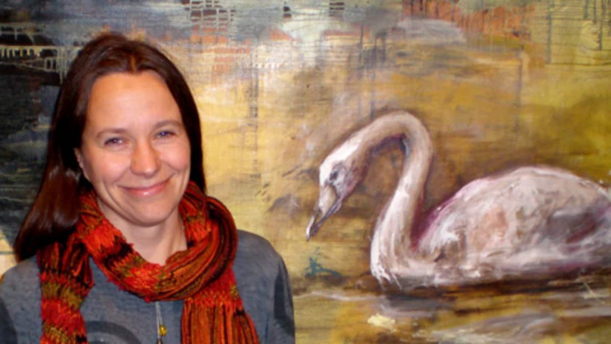 Taiteilija Minna Pyykkö